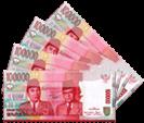 komisi uang jutaan